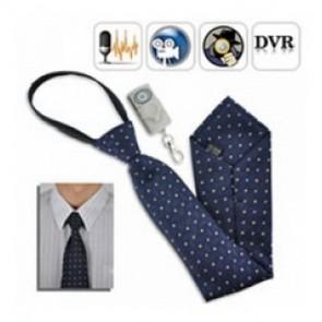 New Tie Spy Camera recorder - Spy Camera Tie with Wireless Remote control Neck Tie Spy Camera DVR w/ 4GB & Remote Control
