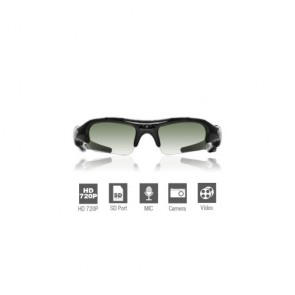Spy Sunglasses Cameras - HD Spy Sunglasses Camera with Web Camera