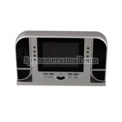 Motion Detection Clock Camera Recorder - Motion Detection SPY Clock Camera Hidden DVR with 72 Degree Vision Angle