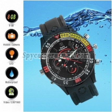 Spy equipment devices - Digital Sports Watch + Hidden Camera