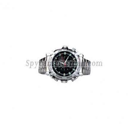 Spy Watch Cam - HD IR Night Vision Waterproof Spy Watch (4GB)