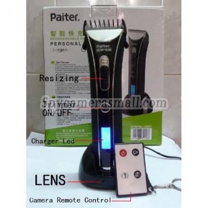 Hair Trimmer Spy Camera - Remote Control 32GB Spy Hair Trimmer Hidden Camera DVR 720P Bathroom Spy Camera DVR