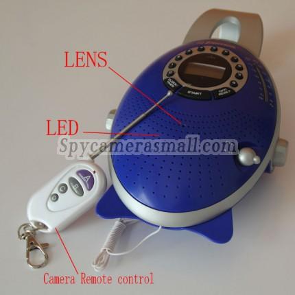 Hidden Camera Radio - 32GB Bathroom Radio Hidden 720P HD Pinhole Bathroom Spy Camera DVR Motion Activated