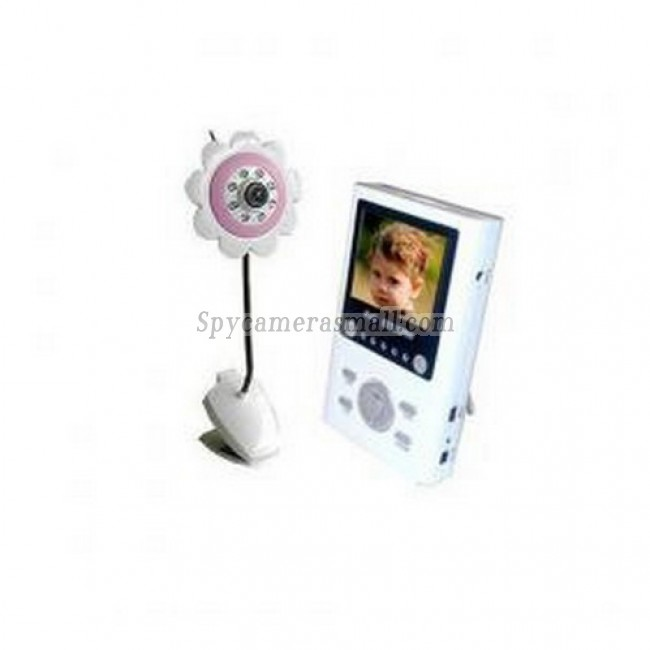 "Wireless Receiver Baby Monitor - 2.4G 4CH2.5""TFT LCD Compact Wireless Portable AV Receiver Baby Monitor"