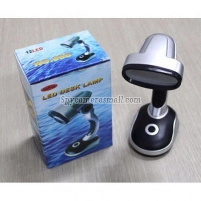 Spy Desk Lamp camera Hidden Camera - Spy Super Bright 12LED Emergency Lamp Outdoor Portable Hidden Pinhole HD Camera DVR 1280x720 8GB
