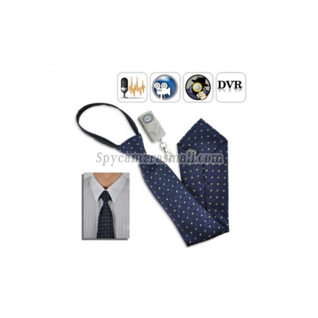 spy cameras - Spy Necktie Camera with Remote Control (4GB)