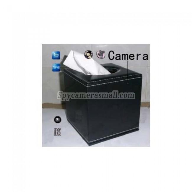 Spy Tissue Box Hidden Spy Camera 16GB HD 720P DVR Motion Detection Remote Control On/Off