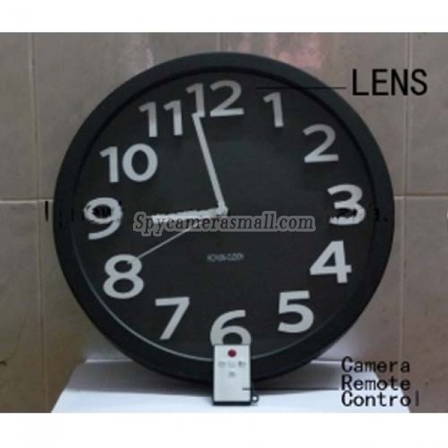 Wall Clock Hidden Camera - Wall Clock Hidden Spy Camera DVR with Internal Momory 16GB Motion Activated