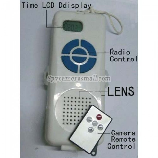 hidden shower cameras for sale - 720P HD Motion Activated Waterproof Spy Radio Camera Remote Control DVR 16GB