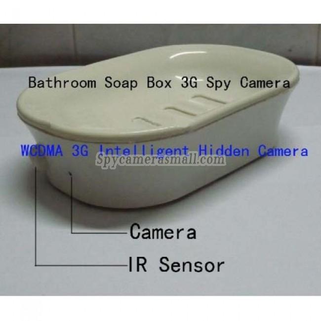 Soap Box Hidden Bathroom Spy Cams DVR - Bathroom Spy Camera WCDMA 3G Soap Box Spy Hidden Camera