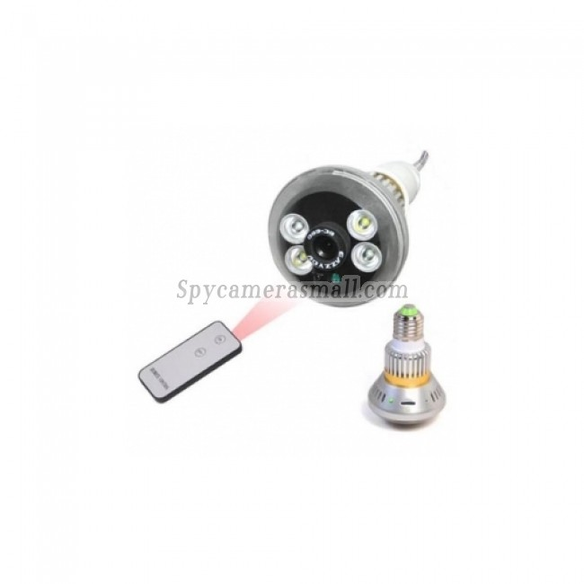 security spy cam - Bulb Hidden DVR With Night Vision 7 Changeable Functions Support 7 Days Video Recording Remote Control Light