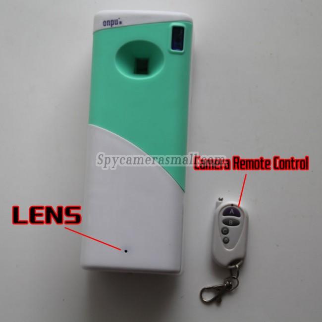 Kamera ukryta w odświeżaczu do powietrza w szamponie 1080P DVR 32G HD z czujnikiem ruchu najlepszymi kamery szpiegowskie