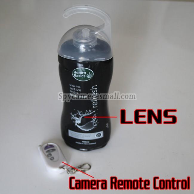Kamera szpiegowska w szamponie 720P DVR 16G HD z czujnikiem ruchu najlepszymi kamery szpiegowskie