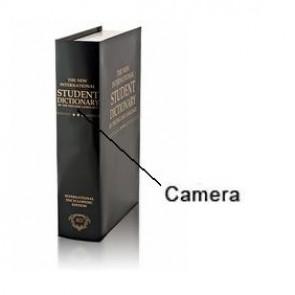 Spy Book Hidden Camera DVR - 8GB Spy Book Hidden Camera DVR