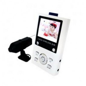 Wireless Receiver Baby Monitor - Baby Monitor 2.5 Inch CMOS Camera with Infra-red LED and Audio Monitoring